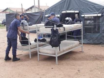 Guardas são retirados de escolas para acompanhar remoção de favela