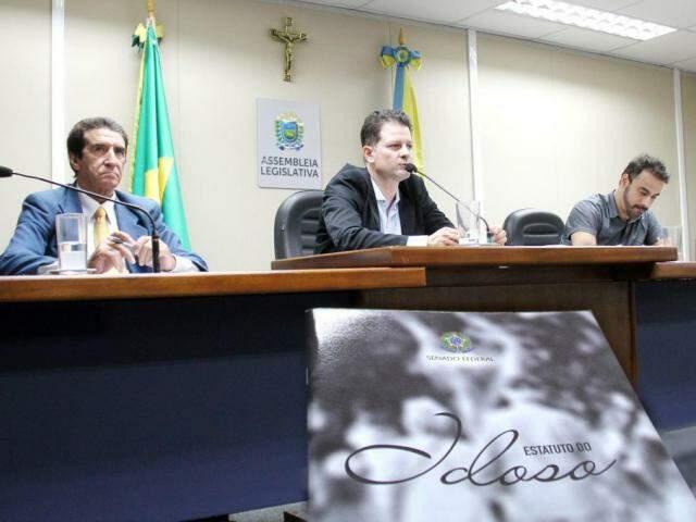 Audiência vai ocorrer após discussão do tema na Frente Parlamentar do Idoso (Foto: Wagner Guimarães/ALMS)