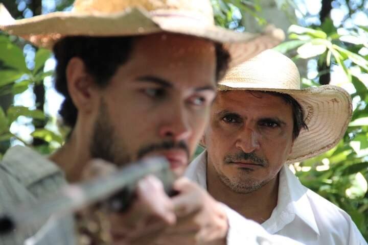Ele no curta Espera, gravado em 2012 (Foto: Render Brasil)