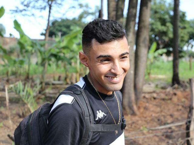 Sushiman Victor Vinícius, de 26 anos, ficou bem surpreendido já que é morador do bairro há 20 anos. (Foto: Paulo Francis)