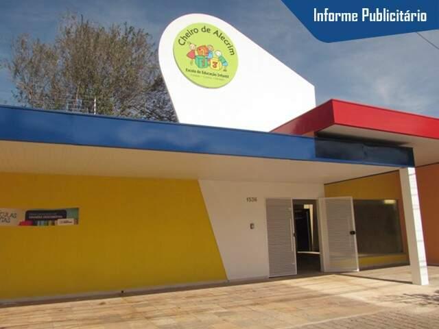 A escola fica localizada na rua Pernambuco, 1.536 (Foto: Divulgação)