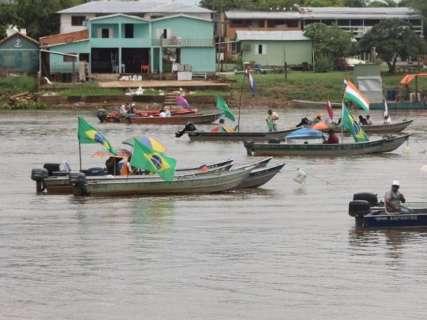 PF confirma uso de balas de borracha contra pescadores no Rio Paraguai