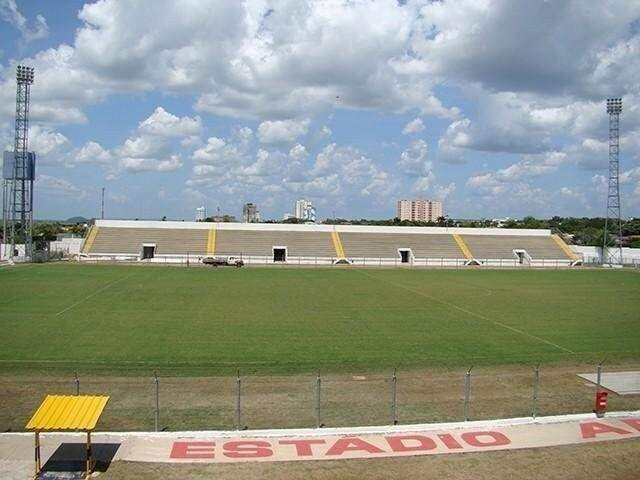 Estádio Arthur Marinho, em Corumbá (Foto: Diário Corumbaense/Arquivo)
