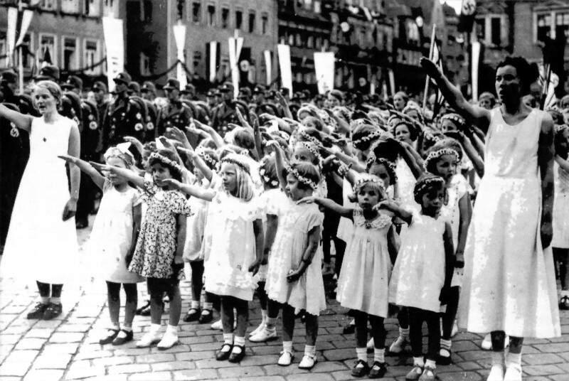 A vida de uma simples mulher na Alemanha nazista