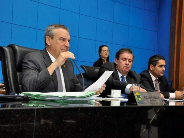 Deputados aprovaram projetos na sessão desta terça-feira (Foto: Luciana Nassar/ALMS)