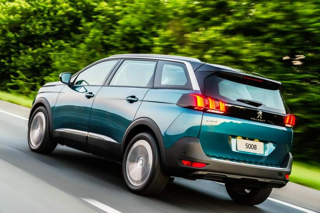 O estiloso Peugeot 5008 chega as lojas a partir de R$ 157.490