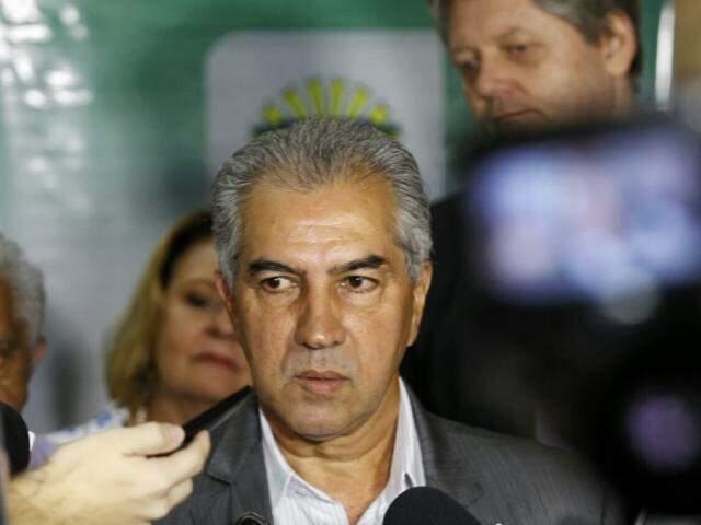 Governador Reinaldo Azambuja (Foto: Saul Schramm)
