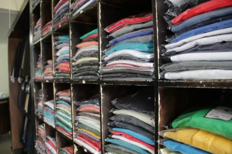 Nenhuma dieta acaba com clientela de loja que há 28 anos vende roupa tamanho 80