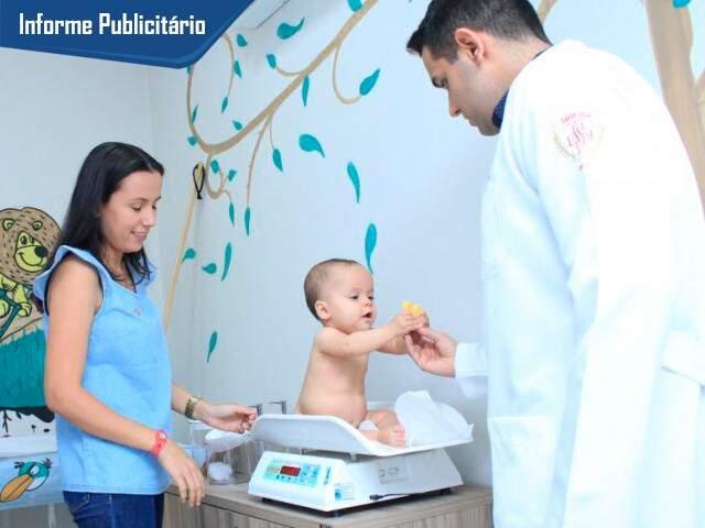 Nicolly é uma das pequenas pacientes da CCOR Especialidades. (Foto: Marina Pacheco)