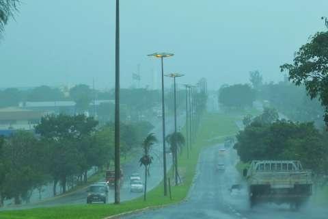 Meteorologia alerta para risco de chuva intensa em Mato Grosso do Sul