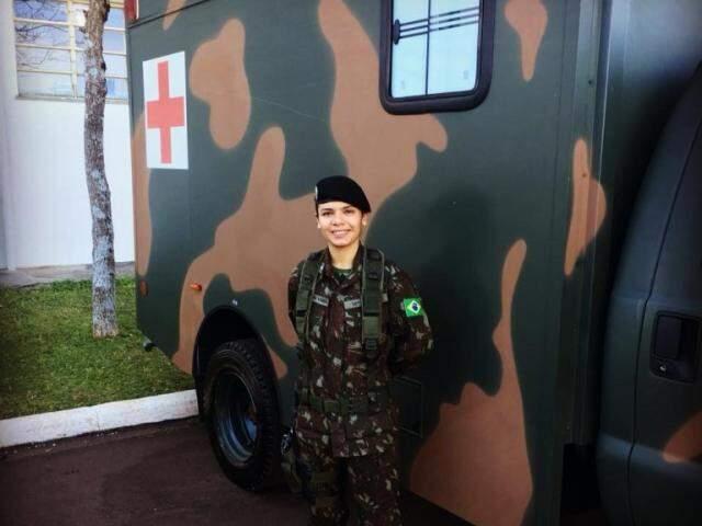 Sonho de ser sargento foi sonhado junto de Rafael e hoje estar dentro da farda é motivo de orgulho. (foto: Acervo Pessoal)
