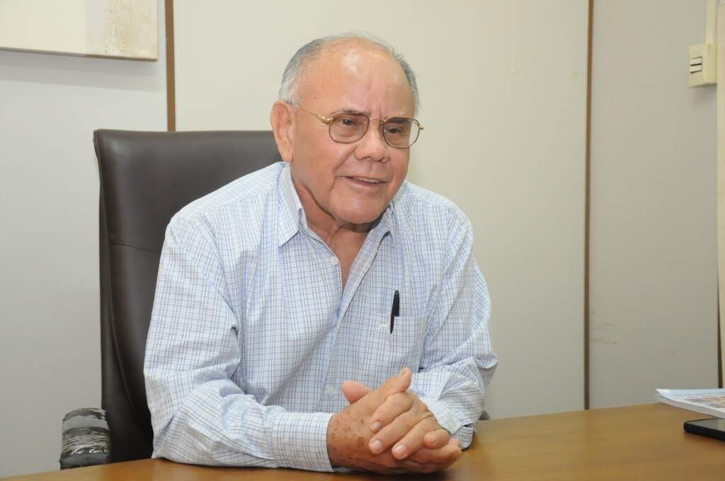 Deócles José Ferreira, aos 81 anos. (Foto:Paulo Francis)