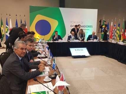 """""""Agora vai sair"""", diz Doria sobre pacto federativo a governadores eleitos"""