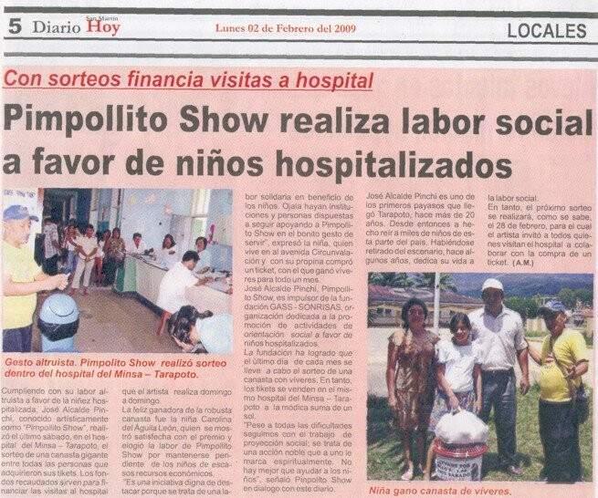 Matéria de um jornal local em reconhecimento ao projeto de José (Foto: Arquivo pessoal)