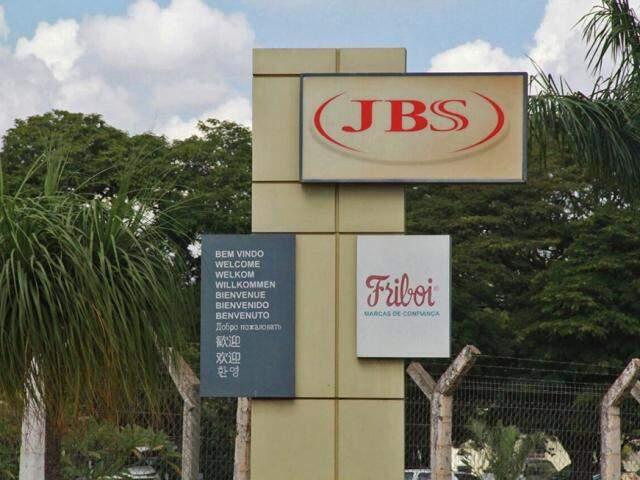 Sede da JBS em Campo Grande. (Foto: Marcos Ermínio/Arquivo).