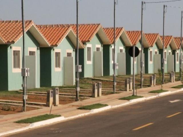 Casas populares, neste caso, da Agência Estadual de Habitação. (Foto: Divulgação Agehab).