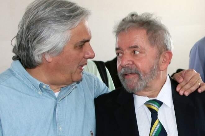 O senador Delcídio do Amaral e o ex-presidente Lula. (Foto: Arquivo)