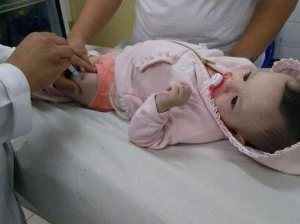 Mais de 3 mil crianças foram imunizadas contra o sarampo na Capital