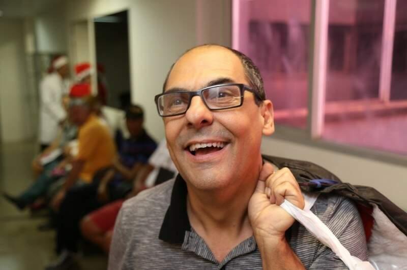 Carlão descobriu em agosto que sofria de aplasia medular. (Foto: Fernando Antunes)