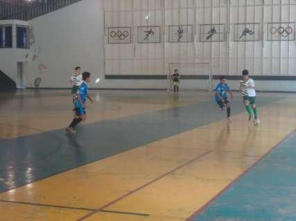 Copa Pelezinho Estadual de futsal define amanhã primeiros times finalistas