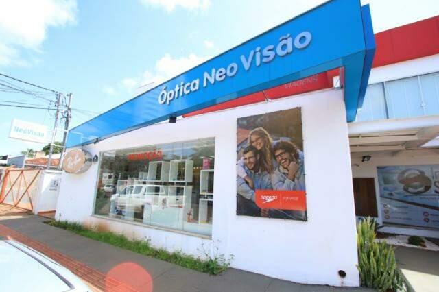 A NeoVisão fica na Rua Euclides da Cunha, número 1133, Jardim dos Estados.