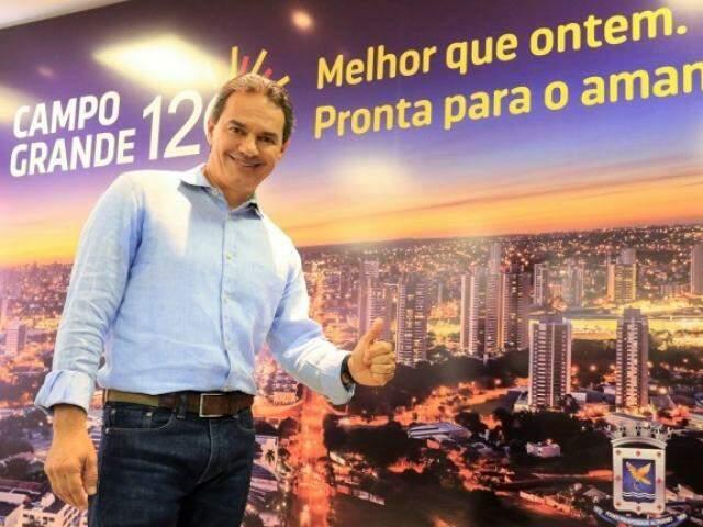"""Prefeito Marquinhos Trad concorre em duas premiações por """"Boas Práticas na Gestão Pública"""" (Foto: PMCG/Divulgação)"""