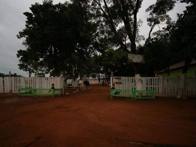 Clínica onde José Carlos e os filhos ficaram abrigados por 21 dias (Foto: André Bittar)