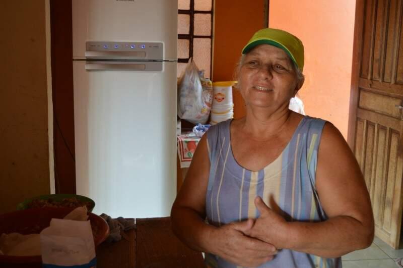 Aos 56 anos Vanda mostra que tem disposição de sobra. (Foto: Thailla Torres)