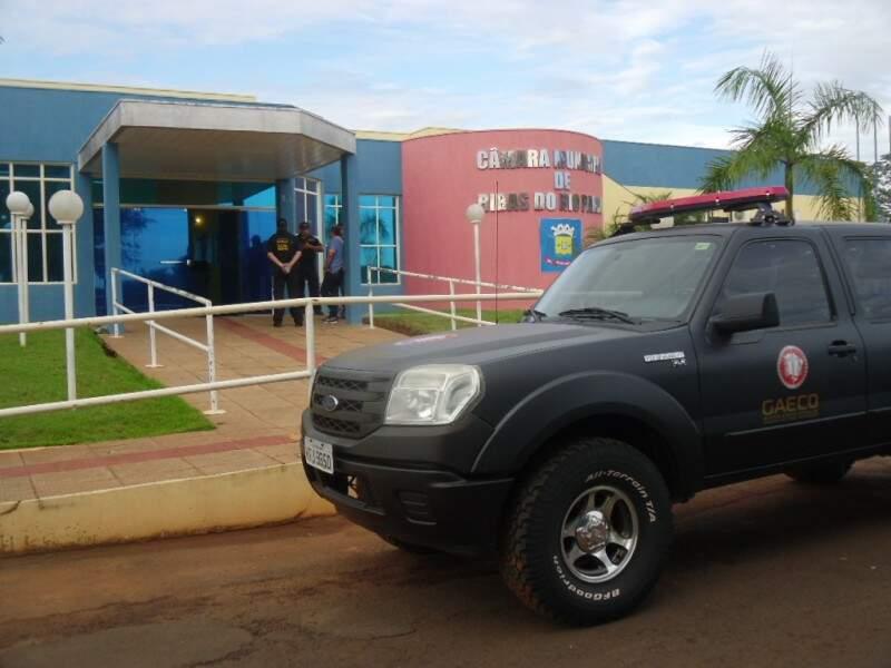 A operação denominada Viajantes foi deflagrada nesta manhã. (Foto: Rio Pardo News)