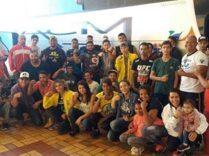 Atletas do MS representam Brasil em Campeonato Panamericano de Luta de Braço