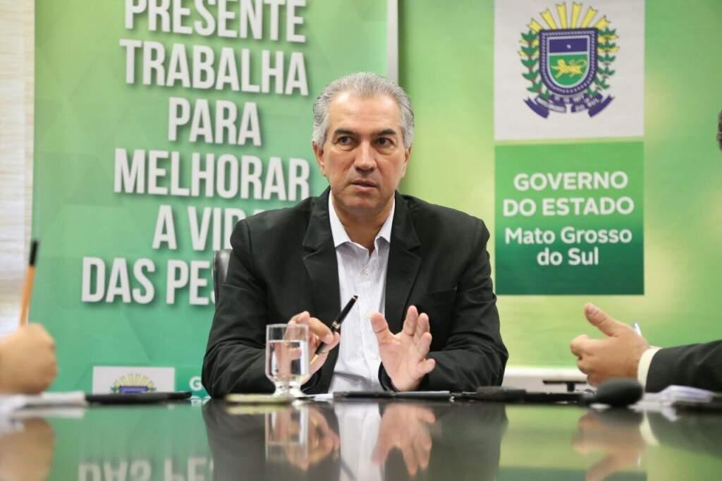"""""""Mato Grosso do Sul será um dos Estados que mais vai crescer nos próximos anos"""", diz Azambuja. (Foto: Marcos Ermínio)"""