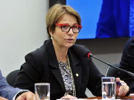 Fusão de ministérios pode prejudicar o Brasil, avalia Tereza Cristina