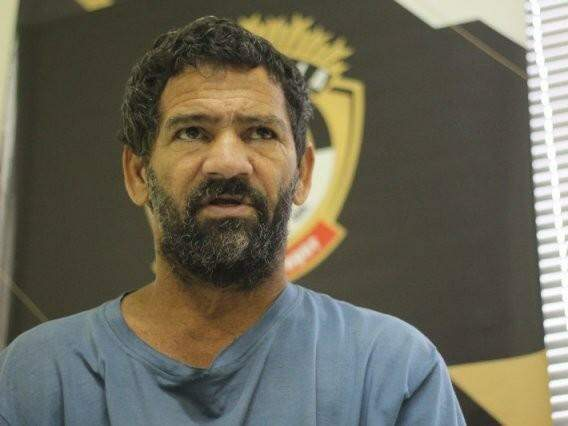 """Luiz Alves Martins Filho, o """"Nando"""", que em 2016 confessou 16 assassinatos de moradores da região (Foto: Marcos Ermínio/Arquivo)"""