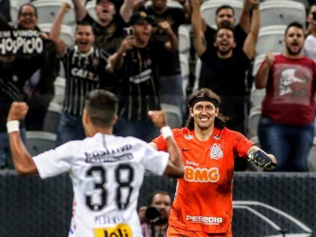 Goleiro Cássio teve participação fundamental na classificação do timão. (Foto: Rodrigo Coca/Ag. Corinthians)