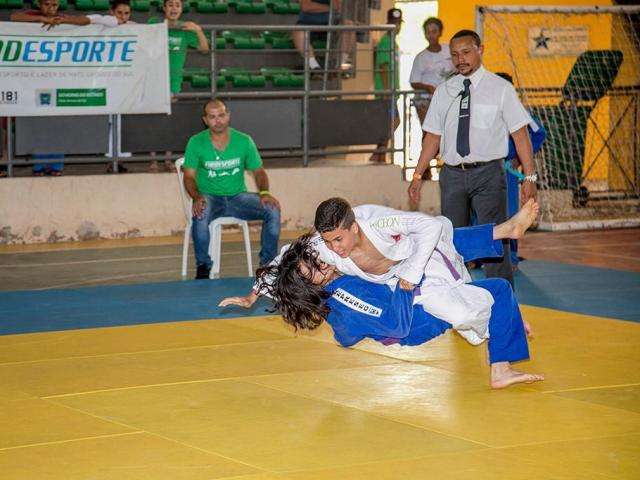 Judô é uma das modalidades de abertura dos Jogos Escolares (Foto: Divulgação)