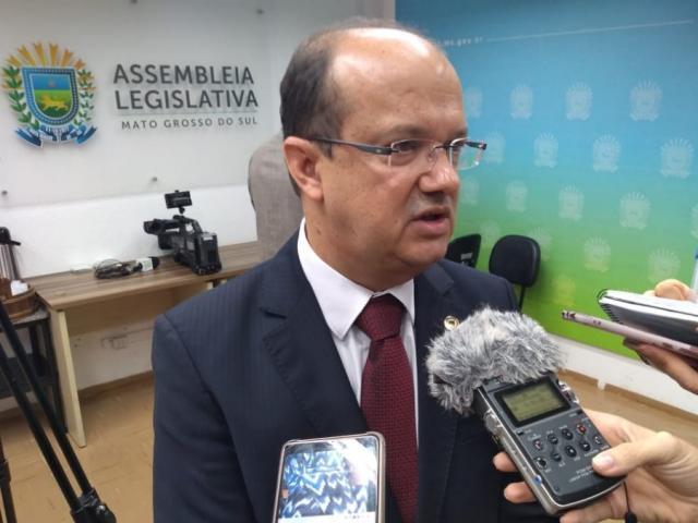Deputado José Carlos Barbosa, relator na CCJ do projeto da demissão volutária dos servidores (Foto: Leonardo Rocha)