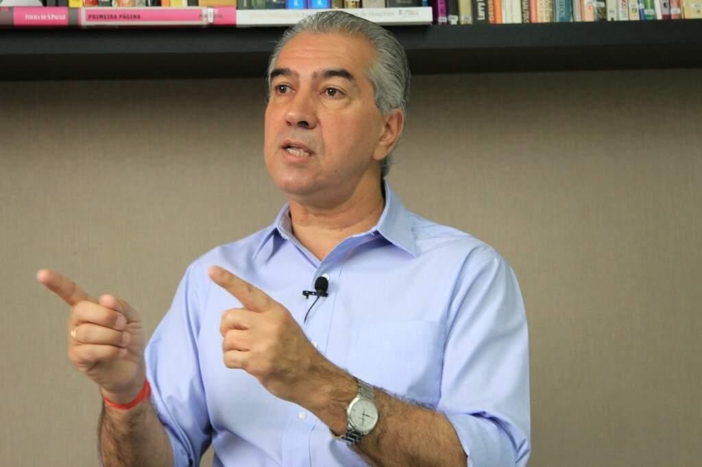 Reinaldo Azambuja afirma que entregou toda documentação financeira para o STJ. (Foto: Marina Pacheco)