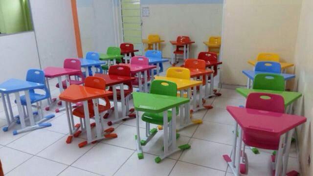 Marca de móveis vira grife de conforto para escola avançar em qualidade