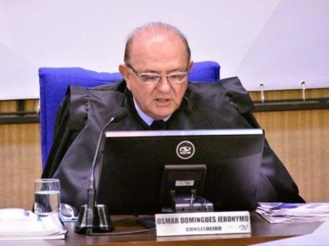 Osmar Jeronymo assumiu o cargo de conselheiro em janeiro de 2015 (Foto/Arquivo)