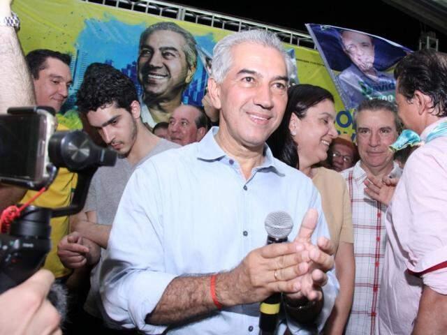 Reeleito, Reinaldo está entre os diplomados nesta sexta-feira. (Foto: Kísie Ainoã/Arquivo)