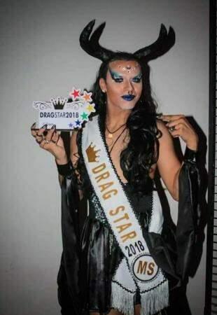 Drag queen Vencedora em 2018. (Foto: Divulgação)