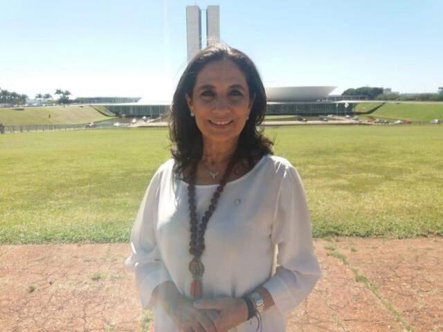 Carla Stephanini apresentou relatório sobre reuniões feitas ao longo de 30 dias de mandato como deputada federal. (Foto: Arquivo pessoal/Reprodução)