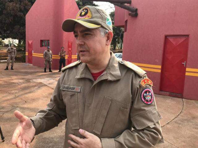 Coronel Joílson disse que a ajuda chegou em boa hora (Foto: Viviane Oliveira)