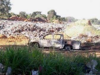 Homens carbonizados eram policial e traficante que trabalhou para Beira-Mar