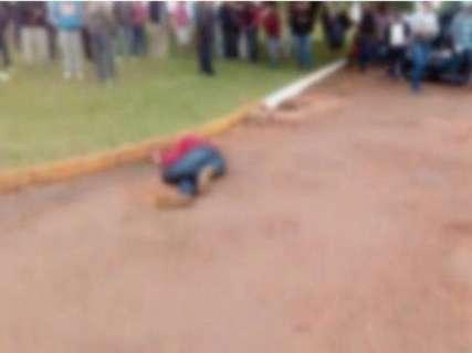Morto após sair de delegacia estava envolvido em atentado contra prefeito