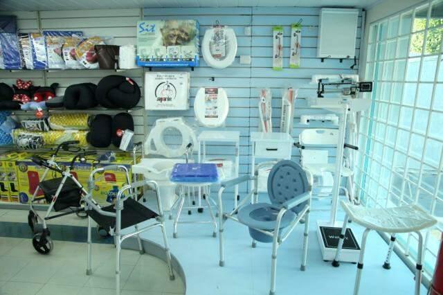 Loja se especializou em itens de locomoção e demais produtos que facilitam a vida de quem tem alguma necessidade especial.