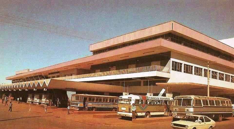 A antiga rodoviária de Campo Grande, como o prédio ainda é conhecido