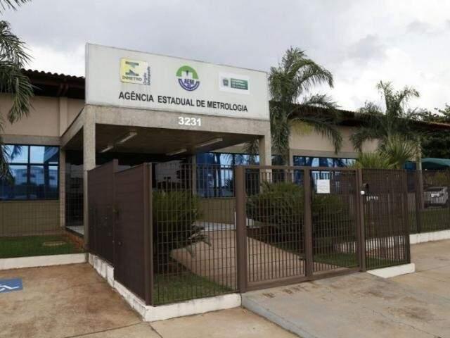 Sede do Inmetro-MS em Campo Grande (Foto: Arquivo)