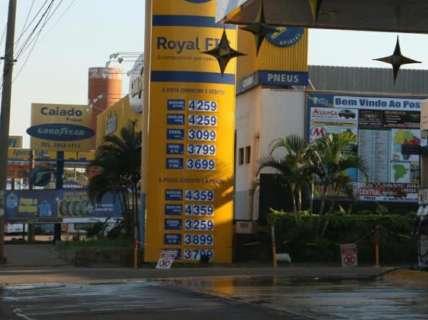 Em alta há 21 dias, preço da gasolina acumula variação de 12,82%