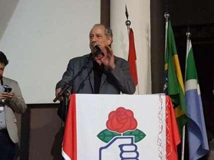 Ciro Gomes diz que vinda de Odilon fortalece PDT em MS e no País